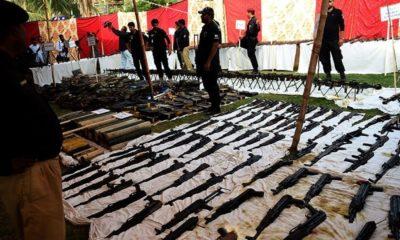 Azizabad Weapons Arrest