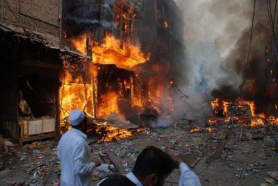 Blast at Shah Norani