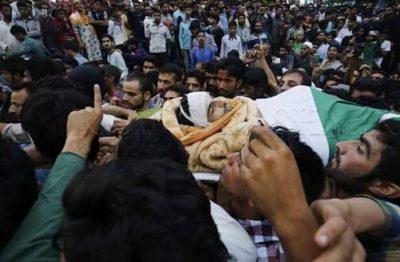 Burhan Wani Shaheed