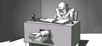 Corrupt Bureaucracy