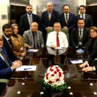 Erdogan Spoke to Reporters