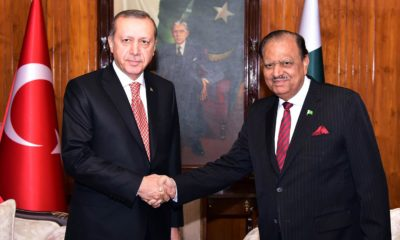 Erdogan and Mamnoon Hussain