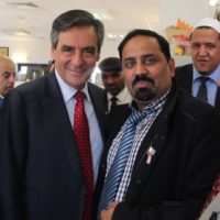 Francois Fillon and Rao Khalil