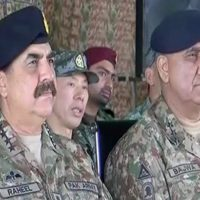 General Kamar Bajwa and Raheel Sharif