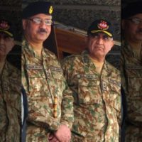 General Qamar Javed Bajwa and Zubair Mahmood Hayat