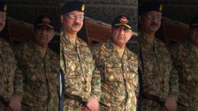 General Qamar Javed Bajwa and  Zubair Mahmood Hayat