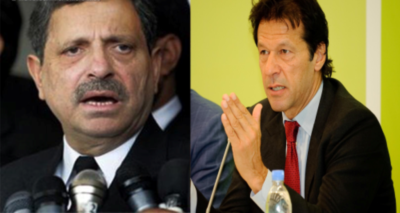 Hamid Khan and Imran Khan