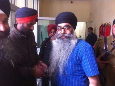 Harmandir Singh Arrest