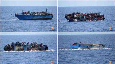 Immigrants Ship Sink