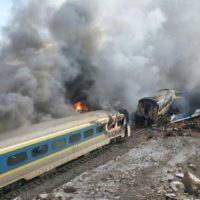 Iran Train Accident