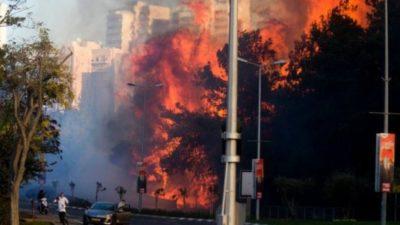 Israel City Fire