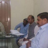 Lahore Haji Basharat Ali Meeting