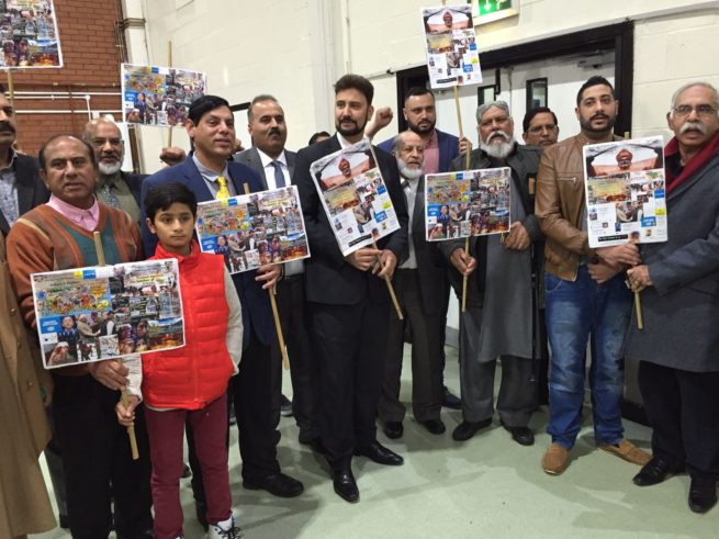 Manchester Event For Kashmir