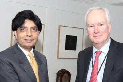Mark Lyall Grant and Ch Nisar