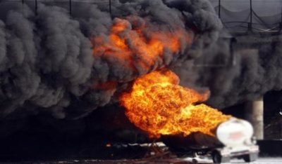 Mozambique Truck Blast