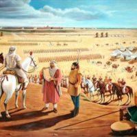 Muhammad Bin Qasim on the Shores of Sind