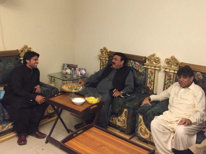 Naveed Rasheed and Ch Asgher and Sheikh Rasheed