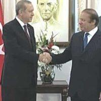 Nawaz Sharif and Recep Tayyip Erdogan