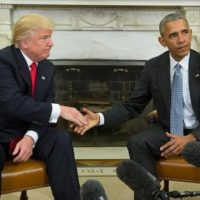 Obama-Donald Trump Meeting