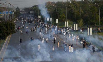 PTI Protest