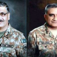 Qamar Javed Bajwa and General Zubair Hayat
