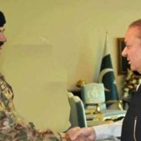 Raheel Sharif and Nawaz Sharif