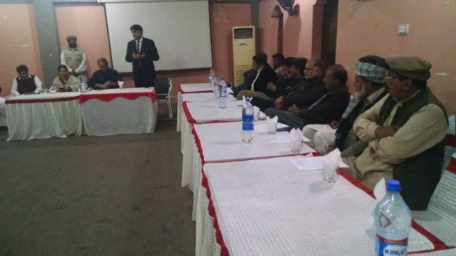 Raja Amir Mahmood Kayani Chakwal Visit