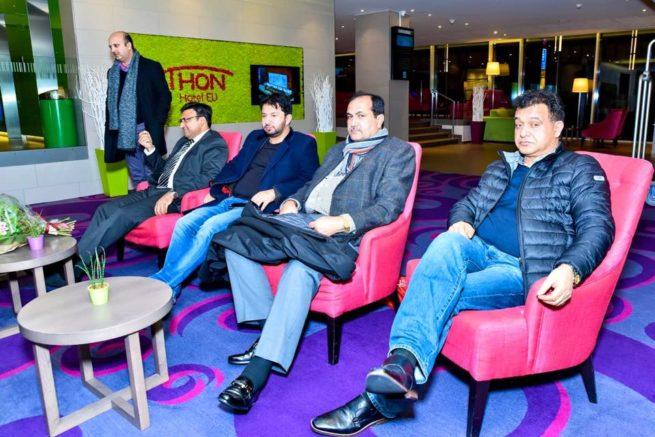 Raja Farooq Haider Meeting with Pakistani Community France