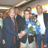 Raja Farooq Haider Welcome in Belgium