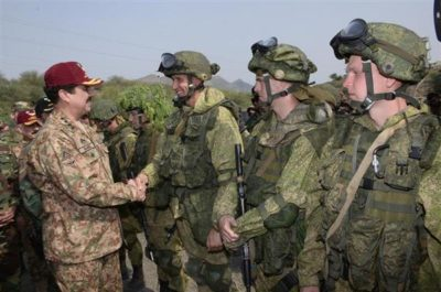 Russia and Pakistan Military Exercises