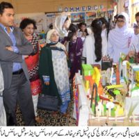 SINCE EXHIBITION SIR SYED COLLEGE