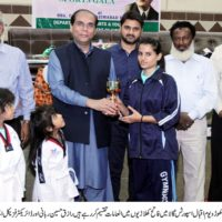 Saleem Raza Khuhro Given Trophy