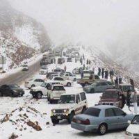 Saudi Arabia Snowfall
