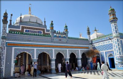 Shrine of Shah Abdul Latif Bhittai