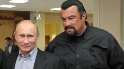 Steven Segal and Putin