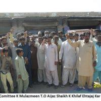 Talhar Town Strike