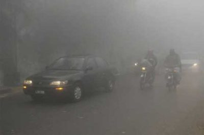 Traffic Accidents Polluted Fog