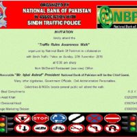 Traffic Rules Awareness Walk