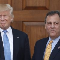 Trump and Chris Christie