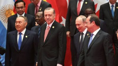 Turk President Meeting