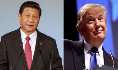 Xi Jinping and Donald Trump