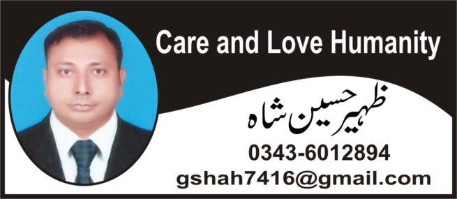 Zaheer Hussain Shah- Logo