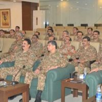 Army Chief Chaired Meeting
