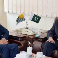 Ali Raza Syed Meeting with AJK President Sardar Masood Khan