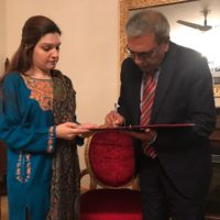 Ali Raza Syed and Mishal Malik Meeting