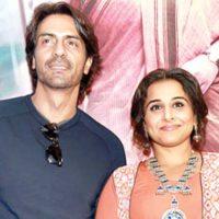 Arjun Rampal and Vidya Balan