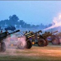 Cannons Salute