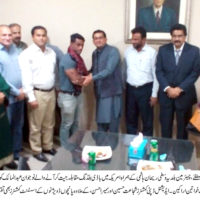 DMC Central Reception To Abdul Maaliq