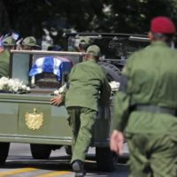 Fidel Castro Buried