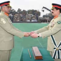 Gen Qamar Bajwa and Raheel Sharif